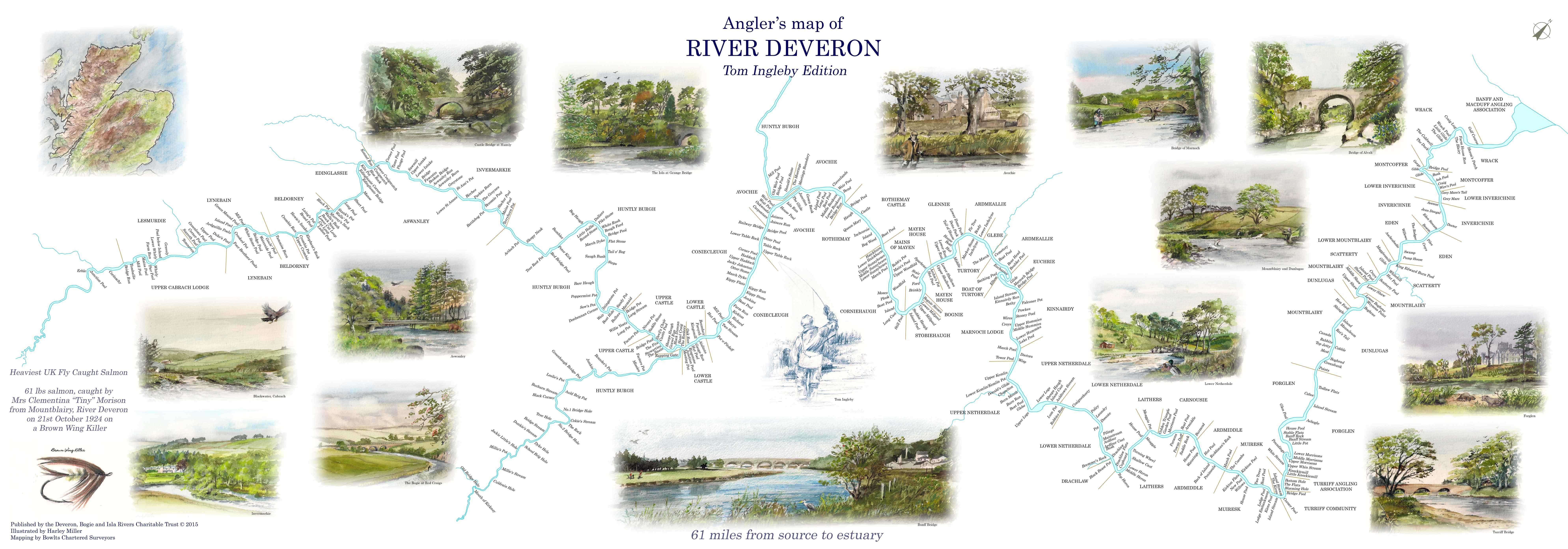 Anglers Map